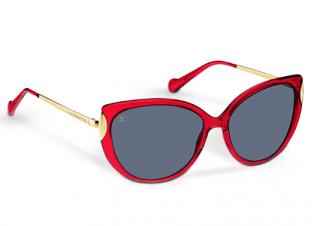 Louis Vuitton Garance Z0833W Red Sunglasses