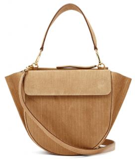 Wandler Hortensia medium corduroy shoulder bag
