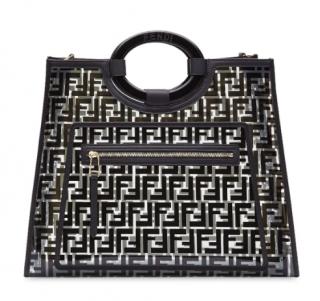 Fendi Black Runaway shopper bag