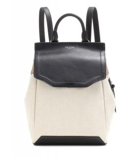 Rag & Bone Pilot canvas and leather backpack