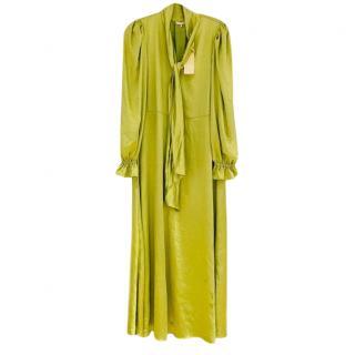 Hanna Stefansson x Aeryne Lime Caral Dress