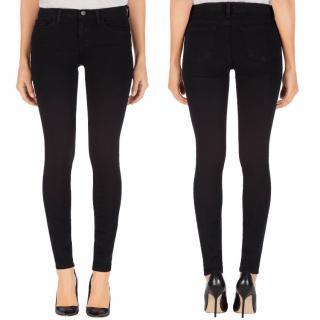 J Brand black skinny jeans