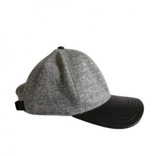 Rag and Bone grey and black baseball cap