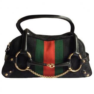 Gucci by Tom Ford Vintage Supreme Web Stripe Tote Bag