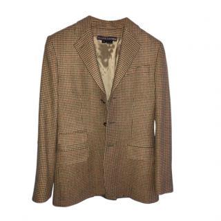 Ralph Lauren light brown cashmere blazer