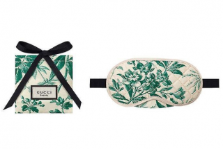 Gucci Blooms VIP Gift Travel Mask & Pouch