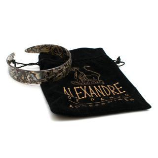 Alexandre de Paris Marbled Wide Headband