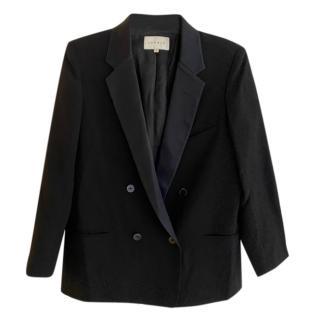 Sandro Black Tailored Jacket