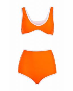 Perfect Moment Orange High Waisted Bikini