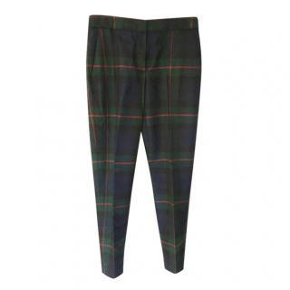 Paul Smith Wool Tartan Trousers
