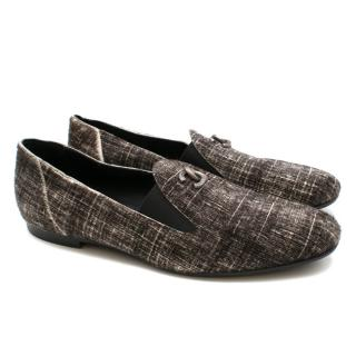 Chanel Pony Hair Check CC Loafers