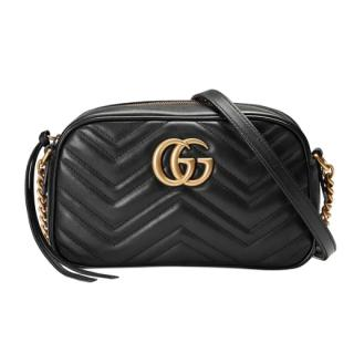 Gucci Black Marmont Camera Bag