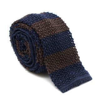 Brunello Cucinelli Knit Squared Necktie
