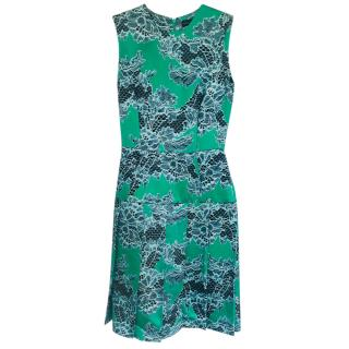 Jonathan Saunders clarissa lace-print dress