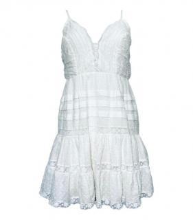 Zimmermann Cotton White Sundress