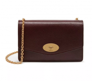 Mulberry Oxblood Small Darley Bag