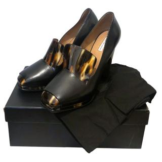 Dries Van Noten Runway Tortoiseshell Pumps