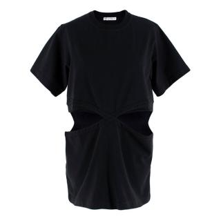 JW Anderson Black Cut-Out T-shirt
