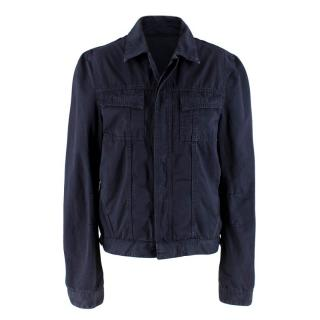 Balenciaga Men's Navy Jacket