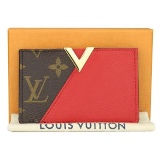 Louis Vuitton Red Kimono Cardholder