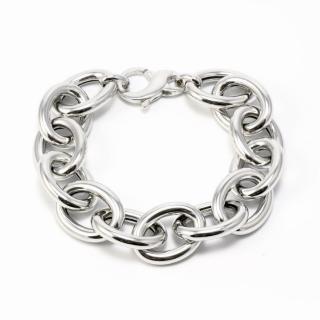 Idandi Sterling Silver Chunky Chain Link Bracelet
