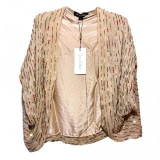 Jenny Packham embellished bolero jacket