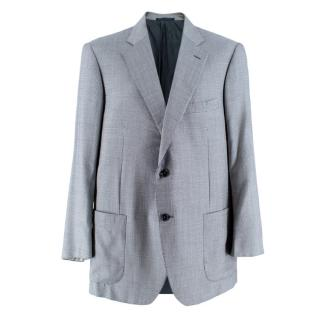 Pal Zileri Men's Silk & Wool Houndstooth Blazer