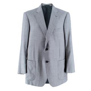 Pal Zileri Men's Silk & Wool Houndstooth Blazer
