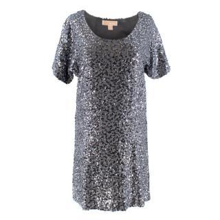 Michael Michael Kors Sequin Grey Dress
