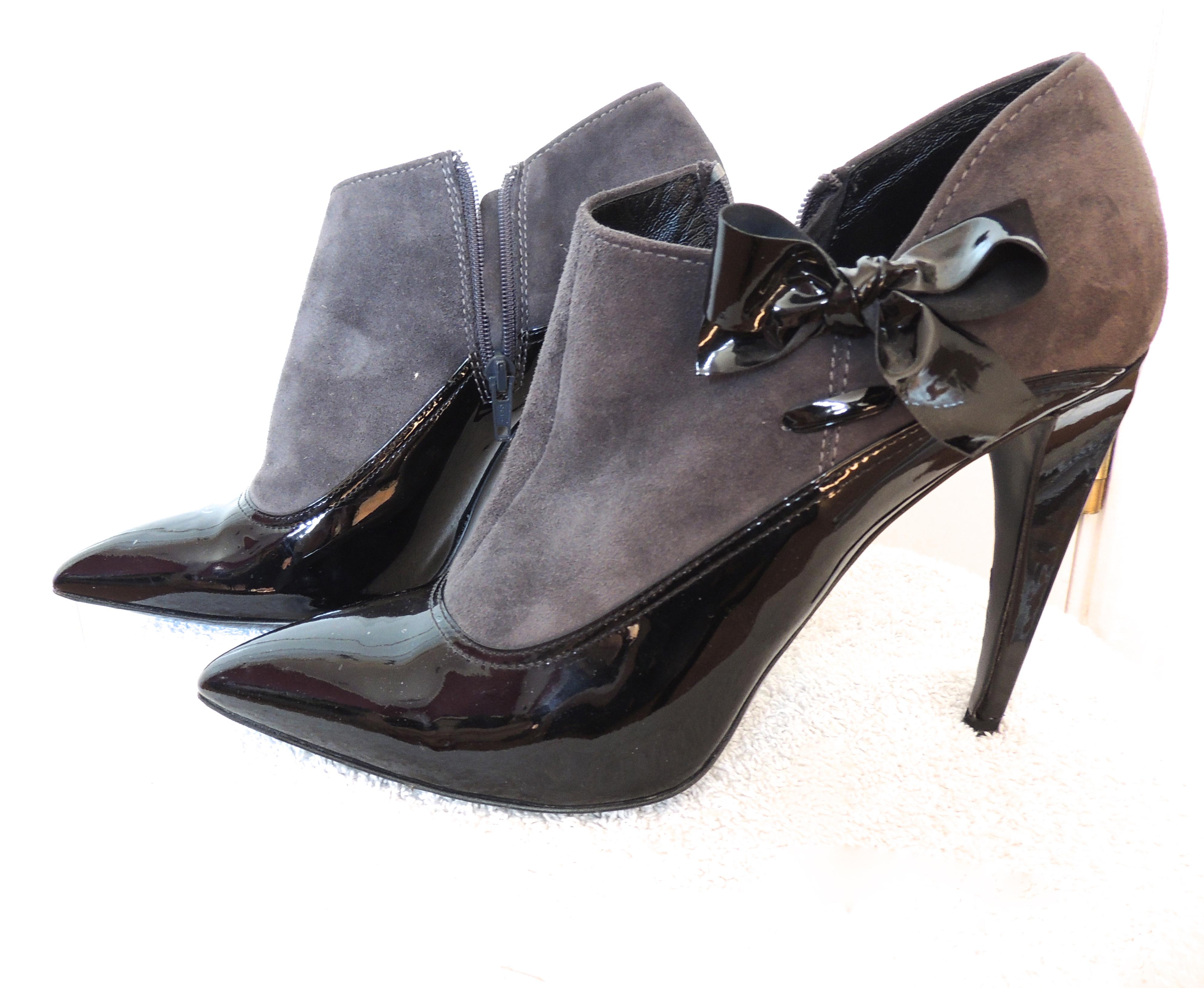 aeb21b228ad4 Mui Mui Banana Heel Shoe Boots