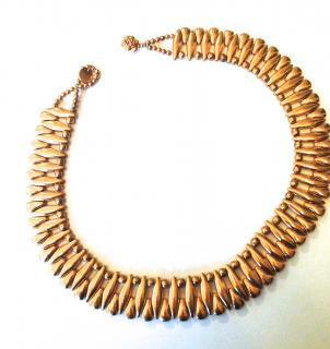 Philipe Audibert 24carat gold-plated necklace