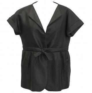 Giambattista Valli short sleeved peplum jacket