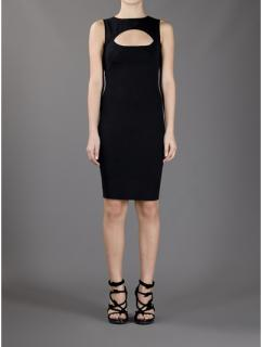 DSquared Cut-Out Fitted Dress