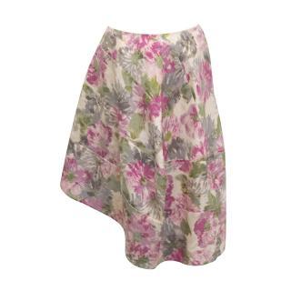 Comme Des Garcons Floral skirt- new