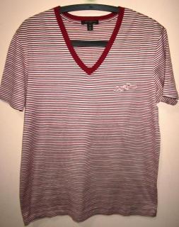 Louis Vuitton Mens Striped  t-shirt