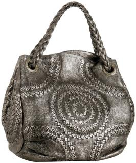 Bottega Veneta Cervo Illusion Metallic Hobo