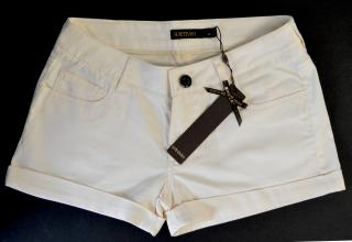 New Supertrash cream mini shorts