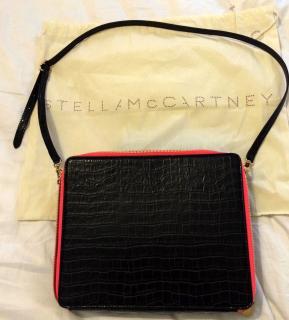3d1a07bc4b Stella McCartney Grace croc-effect faux leather shoulder bag