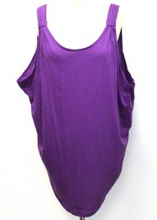 Designers Remix Collection purple vest top