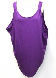 Designers Remix Collection purple vest top