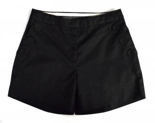 New Designers Remix Collection By Charlotte Eskildsen black cotton 'James shorts'