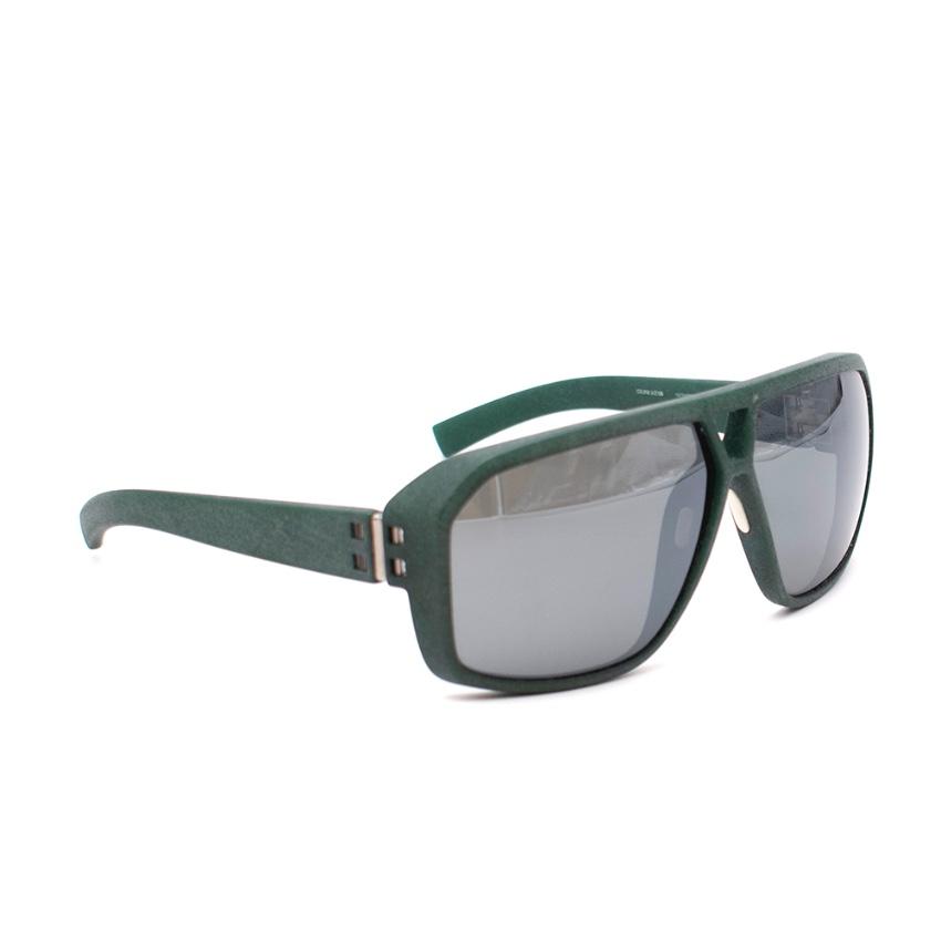 Mykita Mylon Green Icco Sunglasses