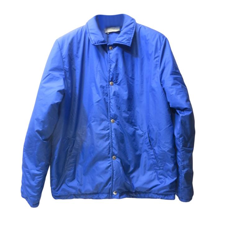Maison Kitsune men's blue pop front jacket