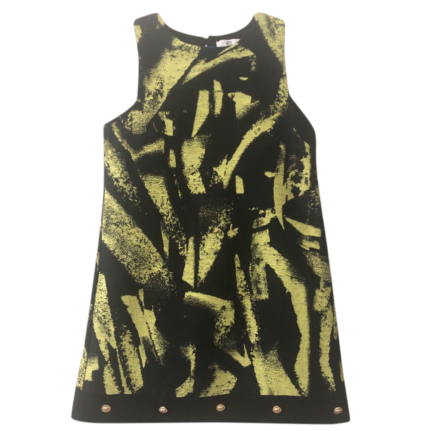 Young Versace Sleeveless printed Medusa dress