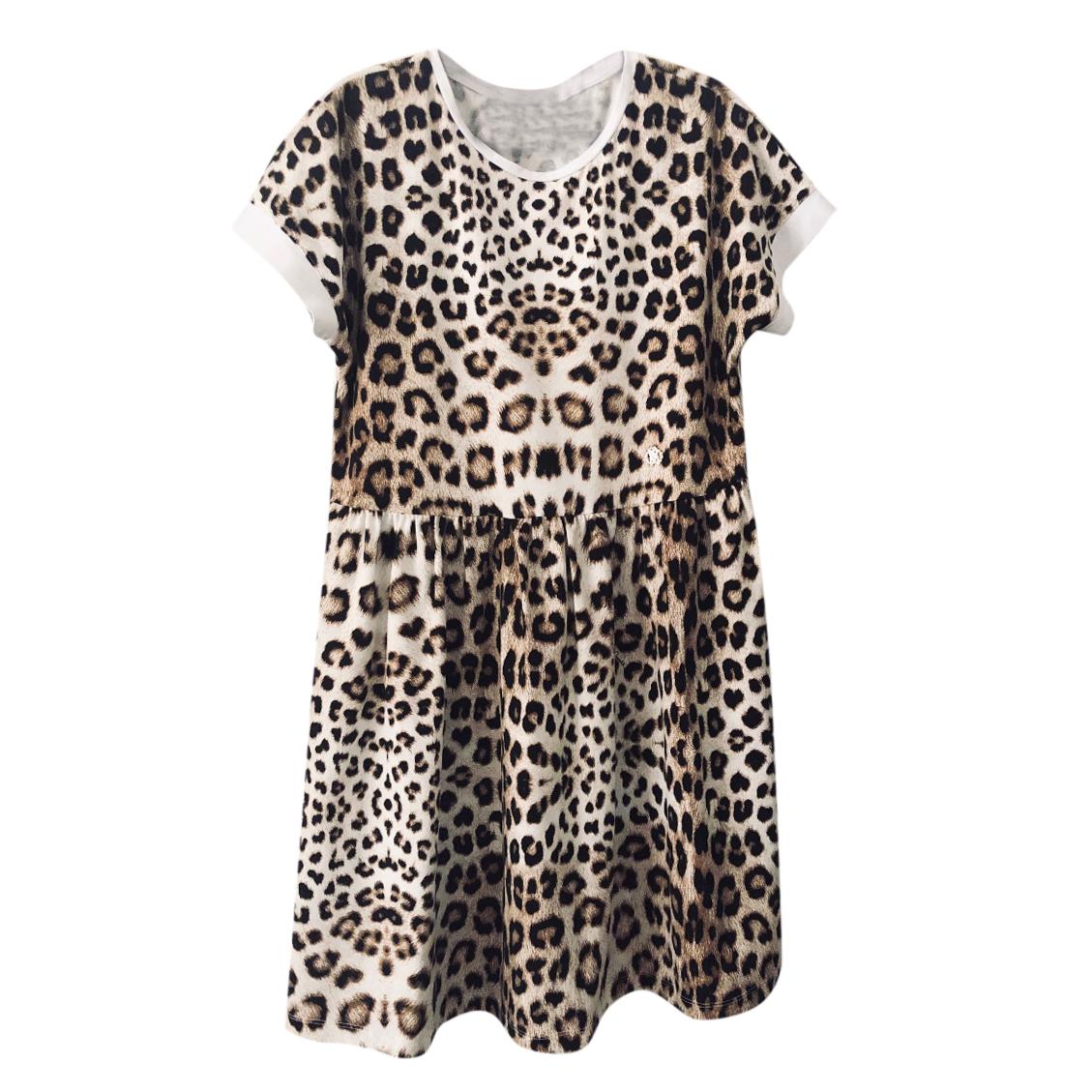 ROBERTO CAVALLI leopard print dress 12 years