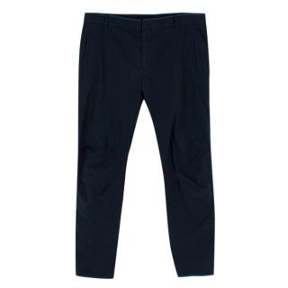 Lanvin Mens Navy Trousers