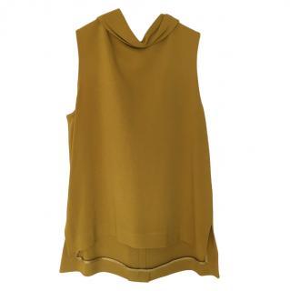 Joseph Mustard Yellow Sleeveless Top