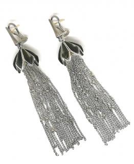 Stephen Webster silver jelly fish earrings