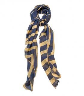 Giorgio Armani Le Collezioni striped silk scarf