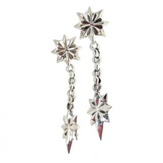 Stephen Webster 14ct Gold & Silver Star Drop Earrings